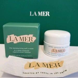 La Mer  Moisturizing Soft Cream .24 oz/7ml NIB